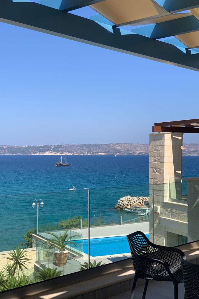 Sea view Villa in Crete- Pafos IKE villa rentals