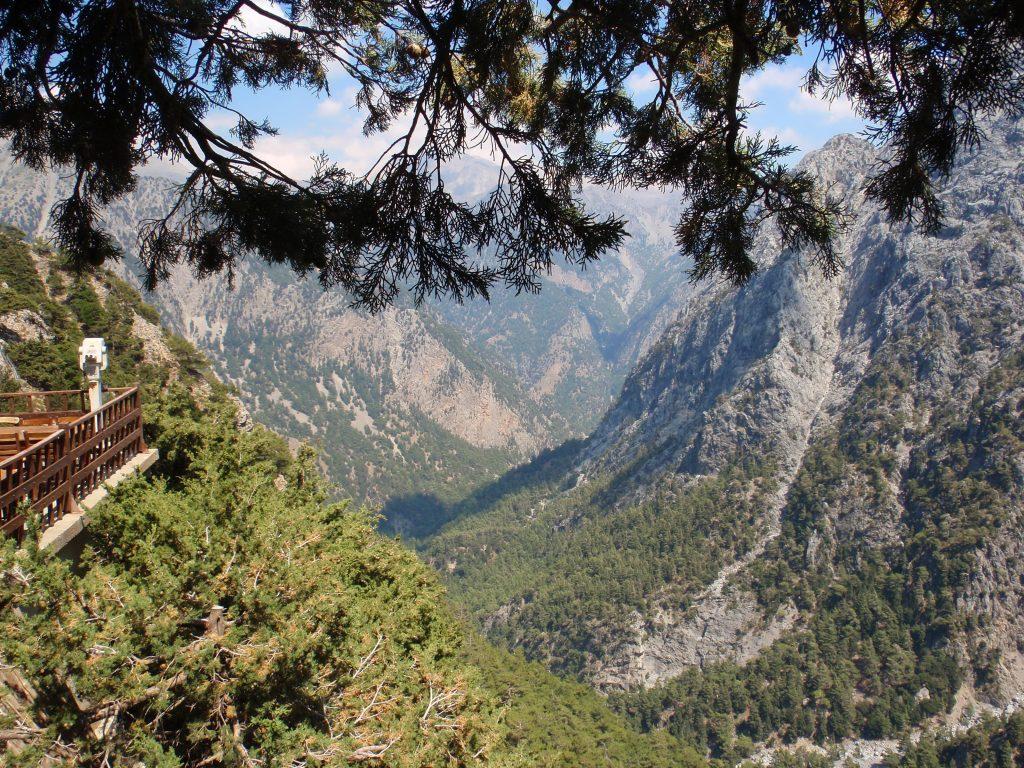 samaria gorge chania Crete- mountain settlements in Chania